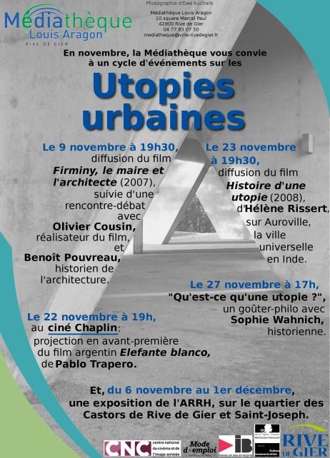 Utopies urbaines à Rive de Gier
